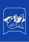 Milliken College Team Spirit (NCAA) Duke 79544 Spirit Rectangle (4000019383) 7'8