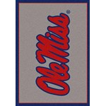 "Milliken College Team Spirit (NCAA) Mississippi 45488 Spirit Rectangle (4000019412) 2'8"" x 3'10"" Area Rug"