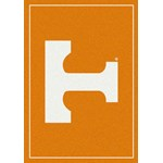"Milliken College Team Spirit (NCAA) Tennessee 74365 Spirit Rectangle (4000019225) 5'4"" x 7'8"" Area Rug"