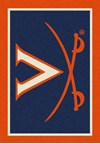 Milliken College Team Spirit (NCAA-SPT) Virginia 79590 Spirit Rectangle (4000054609) 2'8