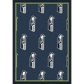 Milliken NFL Team Repeat (NFL-R) Seattle Seahawks 09083 Repeat Rectangle (4000096042) 10