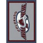 "Milliken NHL Team Spirit (NHL-S) Colorado Avalanche 01071 Spirit Rectangle (4000020304) 3'10"" x 5'4"" Area Rug"