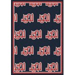 "Milliken MLB Team Repeat (MLB-R) St. Louis Cardinals 01115 Repeat Rectangle (4000019705) 10'9"" x 13'2"" Area Rug"