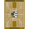 Milliken College Home Court (NCAA) Brigham Young 01048 Court Rectangle (4000018454) 7