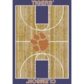 Milliken College Home Court (NCAA) Clemson 01050 Court Rectangle (4000018456) 7