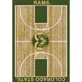 Milliken College Home Court (NCAA) Colorado State 01065 Court Rectangle (4000018458) 7
