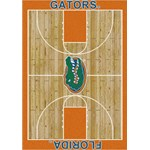 "Milliken College Home Court (NCAA) Florida 01500 Court Rectangle (4000018527) 7'8"" x 10'9"" Area Rug"