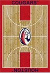 Milliken College Home Court (NCAA) Houston 00387 Court Rectangle (4000018379) 5'4