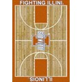 Milliken College Home Court (NCAA) Illinois 01113 Court Rectangle (4000018467) 7
