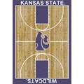 Milliken College Home Court (NCAA) Kansas State 01125 Court Rectangle (4000018470) 7
