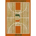 Milliken College Home Court (NCAA) Miami 01157 Court Rectangle (4000018391) 5