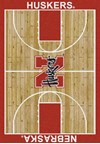 Milliken College Home Court (NCAA) Nebraska 01230 Court Rectangle (4000018316) 3'10
