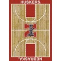 Milliken College Home Court (NCAA) Nebraska 01230 Court Rectangle (4000018401) 5