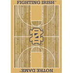 "Milliken College Home Court (NCAA) Notre Dame 01260 Court Rectangle (4000018320) 3'10"" x 5'4"" Area Rug"