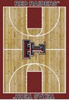 Milliken College Home Court (NCAA) Texas Tech 01440 Court Rectangle (4000018513) 7'8