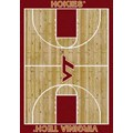 Milliken College Home Court (NCAA) Virginia Tech 01460 Court Rectangle (4000018520) 7