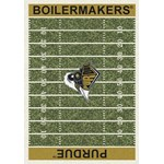 "Milliken College Home Field (NCAA) Purdue 01345 Home Field Rectangle (4000018579) 5'4"" x 7'8"" Area Rug"