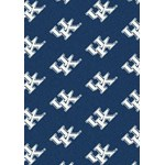 "Milliken College Repeating (NCAA) Kentucky 01140 Repeat Rectangle (4000018989) 10'9"" x 13'2"" Area Rug"