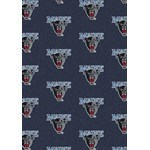 "Milliken College Repeating (NCAA) Maine 01155 Repeat Rectangle (4000018992) 10'9"" x 13'2"" Area Rug"