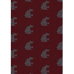 "Milliken College Repeating (NCAA) Washington State 01466 Repeat Rectangle (4000018884) 5'4"" x 7'8"" Area Rug"