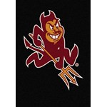 "Milliken College Team Spirit (NCAA) Arizona State 79540 Spirit Rectangle (4000019382) 7'8"" x 10'9"" Area Rug"
