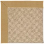 Capel Rugs Creative Concepts Cane Wicker - Canvas Brass (180) Octagon 4' x 4' Area Rug