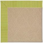 Capel Rugs Creative Concepts Cane Wicker - Vierra Kiwi (228) Octagon 4' x 4' Area Rug