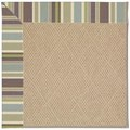 Capel Rugs Creative Concepts Cane Wicker - Brannon Whisper (422) Octagon 4