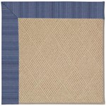 Capel Rugs Creative Concepts Cane Wicker - Vierra Navy (455) Octagon 4' x 4' Area Rug