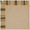 Capel Rugs Creative Concepts Cane Wicker - Java Journey Chestnut (750) Octagon 4