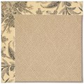 Capel Rugs Creative Concepts Cane Wicker - Cayo Vista Graphic (315) Octagon 6