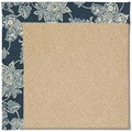 Capel Rugs Creative Concepts Cane Wicker - Bandana Indigo (465) Octagon 6