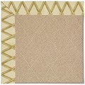 Capel Rugs Creative Concepts Cane Wicker - Bamboo Rattan (706) Octagon 6