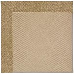 Capel Rugs Creative Concepts Cane Wicker - Tampico Rattan (716) Octagon 6' x 6' Area Rug