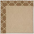 Capel Rugs Creative Concepts Cane Wicker - Arden Chocolate (746) Octagon 6