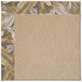 Capel Rugs Creative Concepts Cane Wicker - Bahamian Breeze Ocean (420) Octagon 8