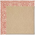 Capel Rugs Creative Concepts Cane Wicker - Imogen Cherry (520) Octagon 8