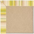 Capel Rugs Creative Concepts Cane Wicker - Kalani Coconut (615) Octagon 8