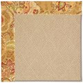 Capel Rugs Creative Concepts Cane Wicker - Tuscan Vine Adobe (830) Octagon 8