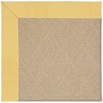 Capel Rugs Creative Concepts Cane Wicker - Canvas Canary (137) Octagon 10' x 10' Area Rug