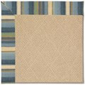 Capel Rugs Creative Concepts Cane Wicker - Kalani Ocean (417) Octagon 10