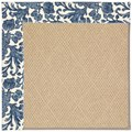 Capel Rugs Creative Concepts Cane Wicker - Batik Indigo (415) Octagon 12