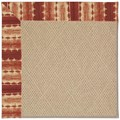 Capel Rugs Creative Concepts Cane Wicker - Java Journey Henna (580) Runner 2