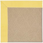 "Capel Rugs Creative Concepts Cane Wicker - Canvas Buttercup (127) Runner 2' 6"" x 10' Area Rug"