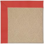 "Capel Rugs Creative Concepts Cane Wicker - Canvas Paprika (517) Runner 2' 6"" x 12' Area Rug"