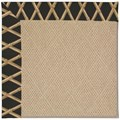 Capel Rugs Creative Concepts Cane Wicker - Bamboo Coal (356) Rectangle 3