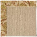 Capel Rugs Creative Concepts Cane Wicker - Cayo Vista Sand (710) Rectangle 4