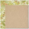 Capel Rugs Creative Concepts Cane Wicker - Cayo Vista Mojito (215) Rectangle 7