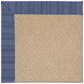 Capel Rugs Creative Concepts Cane Wicker - Vierra Navy (455) Rectangle 7