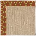 Capel Rugs Creative Concepts Cane Wicker - Bamboo Cinnamon (856) Rectangle 7